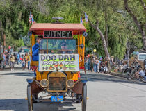 Pasadena Doo Dah parodi av Rosen ståtar Royaltyfri Foto