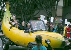 Pasadena Kalifornien - November 20, 2016: Doo Dah Parade Arkivbild