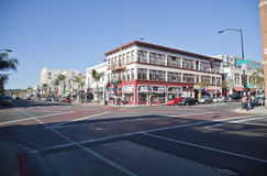 Pasadena. Street of Pasadena,California,USA Royalty Free Stock Photo