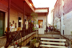 ` Pasaje de Ла defensa ` telmoСан старое Стоковое фото RF