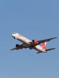 Pasajero Boeing 757 Foto de archivo libre de regalías