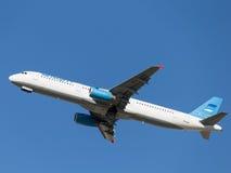 Pasajero Kolavia de Airbus A321-231 Fotos de archivo libres de regalías