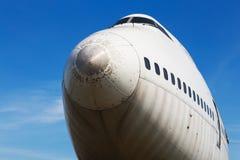Pasajero y cargo del propulsor del vintage airplan Imágenes de archivo libres de regalías