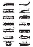 Pasajero y transporte público Fotografía de archivo libre de regalías