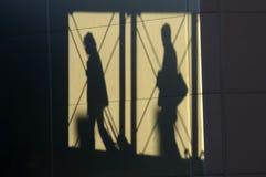 Pasajeros de la sombra Fotos de archivo