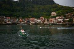 Pasajes DE San Juan - Donibane Guipuzcoa, Baskisch Land, Spanje Royalty-vrije Stock Fotografie