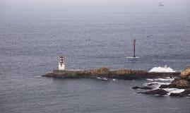 Pasajes harbour stuary Stock Photos
