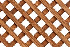 Pasamano de madera Fotografía de archivo