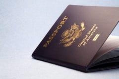 Pasaporte Foto de archivo