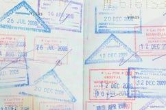 Pasaporte Fotos de archivo