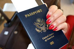 pasaporte Imagen de archivo libre de regalías