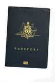 Pasaporte australiano fotografía de archivo libre de regalías