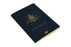 Pasaporte australiano foto de archivo libre de regalías
