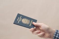 Pasaporte brasileño Imagen de archivo libre de regalías