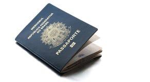 Pasaporte brasileño Imágenes de archivo libres de regalías