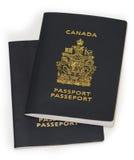 Pasaporte canadiense fotografía de archivo libre de regalías