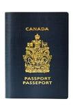 Pasaporte canadiense a estrenar Imagen de archivo libre de regalías
