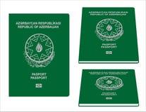 Pasaporte de Azerbaigan Imagenes de archivo