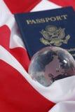 Pasaporte de los E.E.U.U. Imagen de archivo
