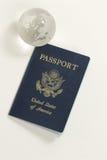 Pasaporte de los E.E.U.U. Foto de archivo libre de regalías