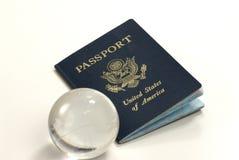 Pasaporte de los E.E.U.U. Imágenes de archivo libres de regalías