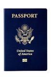 Pasaporte de los E.E.U.U. Fotos de archivo libres de regalías