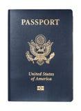 Pasaporte de los E.E.U.U. aislado Fotografía de archivo libre de regalías
