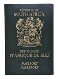 Pasaporte de Suráfrica. Foto de archivo