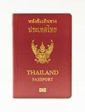 Pasaporte de Tailandia Imagenes de archivo
