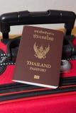 Pasaporte de Tailandia imagen de archivo libre de regalías