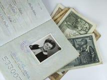 Pasaporte del recorrido Imagen de archivo libre de regalías