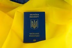 Pasaporte del UA imágenes de archivo libres de regalías