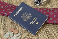 Pasaporte del viajero de mundo Imágenes de archivo libres de regalías