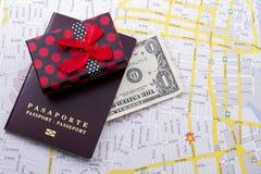 Pasaporte extranjero Foto de archivo libre de regalías
