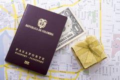 Pasaporte extranjero Fotografía de archivo