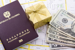 Pasaporte extranjero Imagenes de archivo