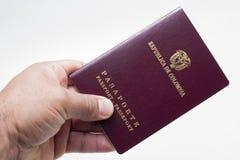 Pasaporte extranjero Fotografía de archivo libre de regalías