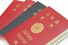 Pasaporte japonés imágenes de archivo libres de regalías
