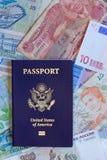 Pasaporte personal de Estados Unidos Imagen de archivo libre de regalías