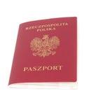 Pasaporte polaco Fotos de archivo libres de regalías