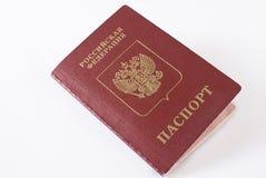 Pasaporte que viaja ruso. Fotografía de archivo libre de regalías