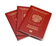 Pasaporte ruso Fotografía de archivo libre de regalías