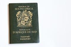 Pasaporte surafricano Fotografía de archivo