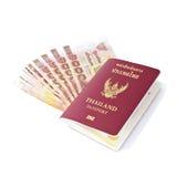 Pasaporte tailandés Foto de archivo libre de regalías