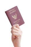 Pasaporte tailandés Foto de archivo