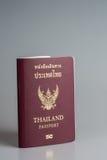 Pasaporte tailandés real imágenes de archivo libres de regalías