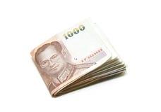 Pasaporte y dinero Imágenes de archivo libres de regalías