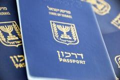 Pasaportes Foto de archivo libre de regalías