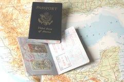 Pasaportes Foto de archivo