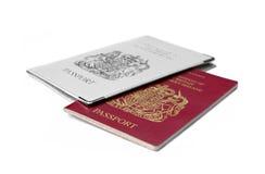 Pasaportes Fotografía de archivo